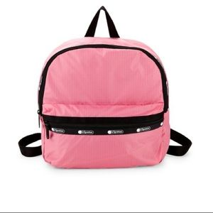 🆕 LeSportsac  BUBBLEGUM Backpack